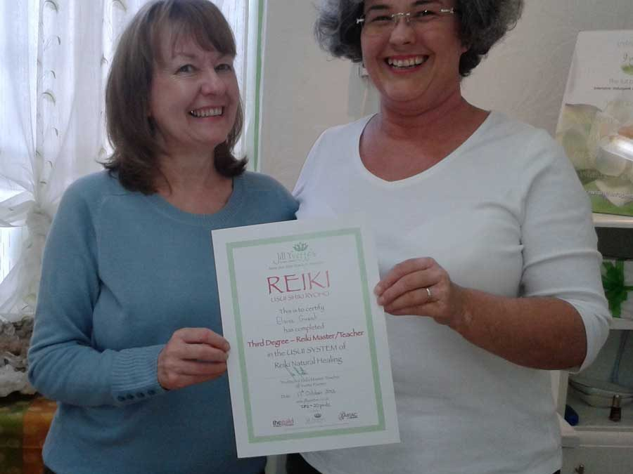 Reiki Master links NHS and Beauty