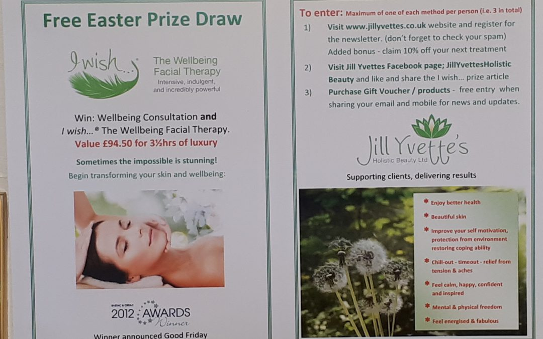 Win 'I wish… The Wellbeing Facial Therapy' & 'Consultation'